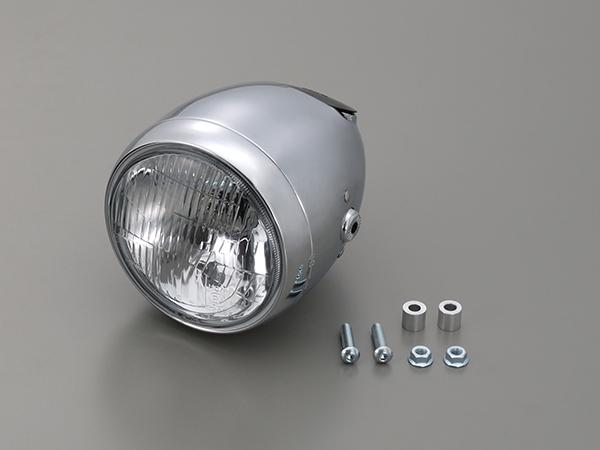 DAYTONA (デイトナ) バイク用 ヘッドライト ビンテージスモールヘッドライト クローム 79159