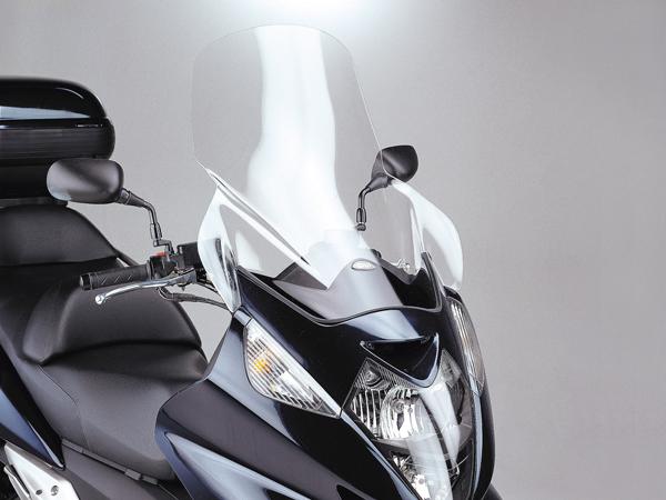 DAYTONA (デイトナ) バイク用 カウルスクリーン GIVI ジビ エアロダイナミックススクリーン Sウィング400/600用 D214ST スクーターシリーズ 90126