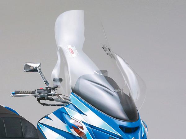 DAYTONA (デイトナ) バイク用 カウルスクリーン GIVI ジビ エアロダイナミックススクリーン スカイウェイブ用 D258ST スクーターシリーズ 90411