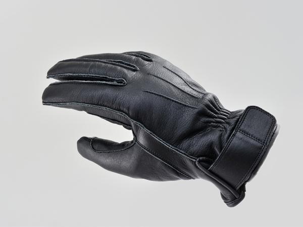 DAYTONA (デイトナ) バイク用 ライディンググローブ HBG-023 AW 外縫いショートグローブ ブラック Mサイズ 90939