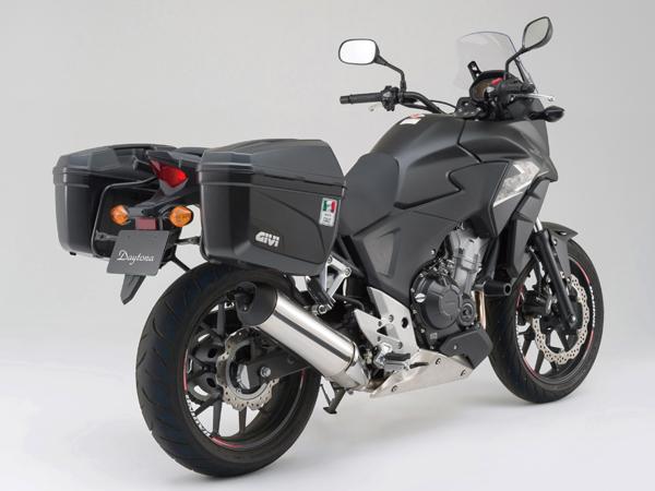 DAYTONA (デイトナ) バイク用 GIVI BOX (ジビ ボックス) GIVI PL1121 パニアホルダー 91605