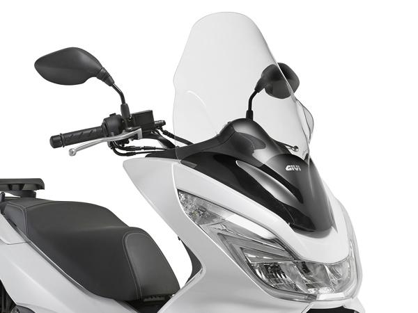DAYTONA (デイトナ) バイク用 カウルスクリーン GIVI ジビ エアロダイナミックススクリーン PCX125/150用 D1136ST スクーターシ 92332