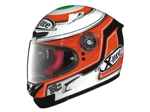 DAYTONA (デイトナ) バイク用 ヘルメット フルフェイス X-LITE X802R コルシ ホワイト/89 92413