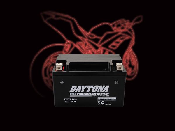 DAYTONA (デイトナ) バイク用 バッテリー ハイパフォーマンスバッテリー【DYTZ10S】 MFタイプ 92884