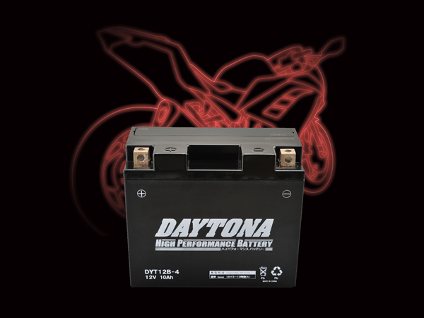 DAYTONA (デイトナ) バイク用 バッテリー ハイパフォーマンスバッテリー【DYT12B-4】 MFタイプ 92886