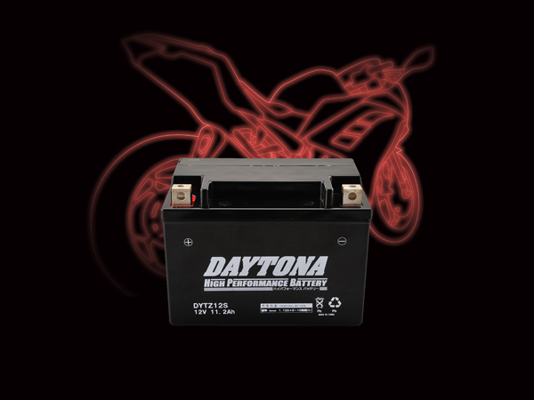 DAYTONA デイトナ 別倉庫からの配送 バイク用 バッテリー 『4年保証』 DYTZ12S ハイパフォーマンスバッテリー MFタイプ 92887