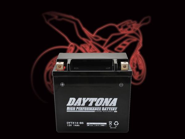 DAYTONA デイトナ バイク用 バッテリー 割り引き 92888 DYTX14-BS 激安特価品 MFタイプ ハイパフォーマンスバッテリー