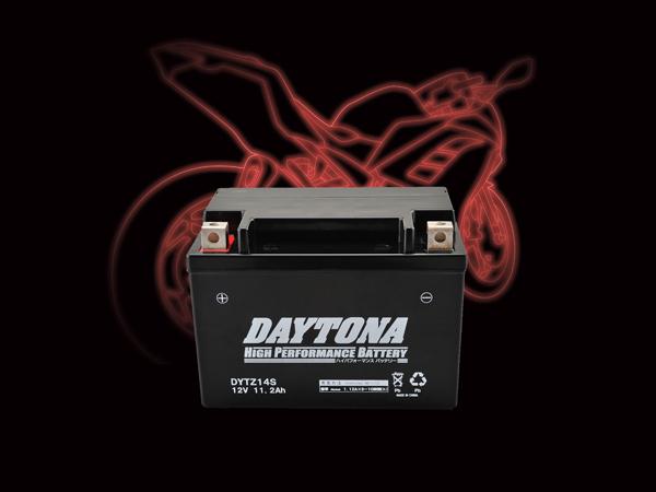 DAYTONA (デイトナ) バイク用 バッテリー ハイパフォーマンスバッテリー【DYTZ14S】 MFタイプ 92889