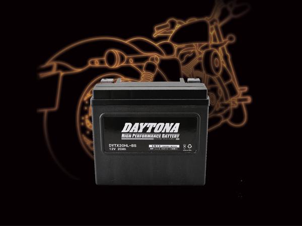 DAYTONA デイトナ 好評受付中 バイク用 バッテリー 輸入 DYTX20HL-BS ハイパフォーマンスバッテリー MFタイプ 92891
