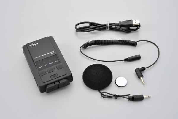 DAYTONA (デイトナ) × COMTEC ( コムテック ) バイク 用 レーダー 探知機 レー探 MOTO モト GPS RADAR レーダー EASY イージー 94419