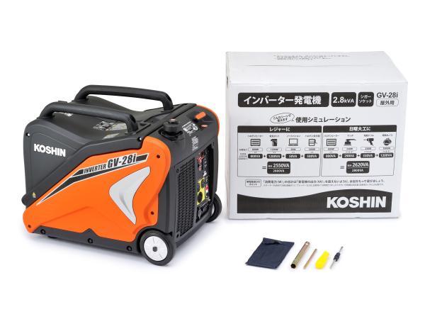 Daytona(デイトナ) KOSHIN インバーター発電機 【GV-28i】 94703