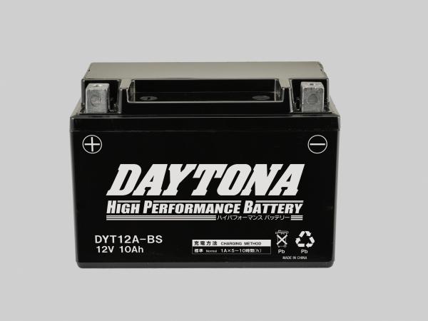 DAYTONA (デイトナ) バイク用 バッテリー ハイパフォーマンスバッテリー DYT12A-BS 95388