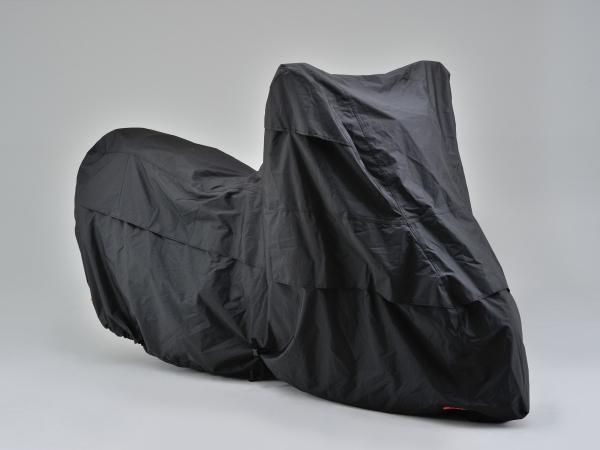 DAYTONA ボディカバー Lサイズ バイク用 96669 ウォーターレジスタント (デイトナ) ブラックカバー