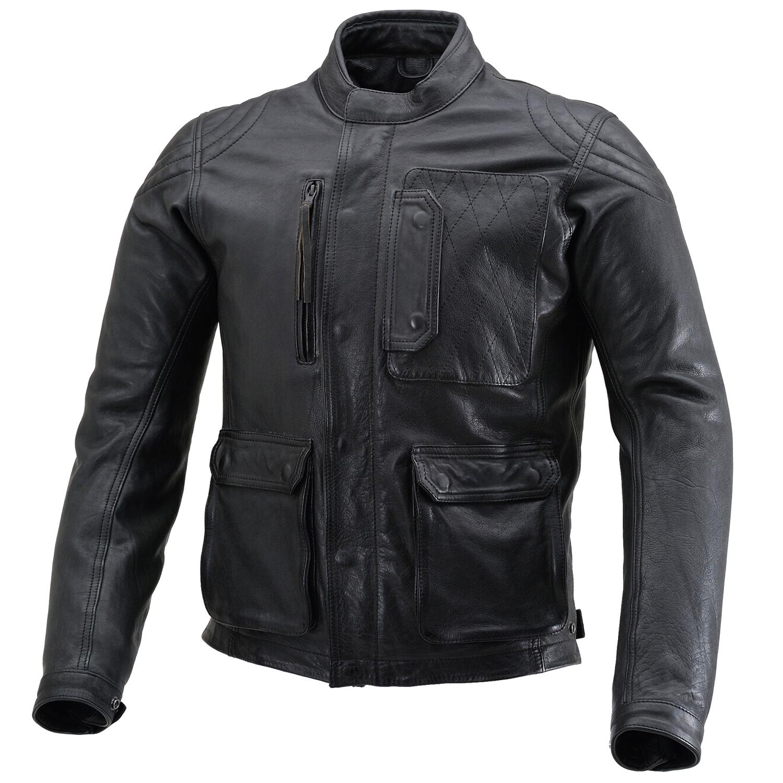 DAYTONA デイトナ 予約販売 バイク用 レザー ジャケット Lサイズ ブラック スクランブラージャケット DL-501 メンズ 春秋冬 超激得SALE 17828