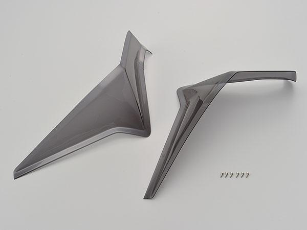 DAYTONA (デイトナ) バイク用 カウルスクリーン サイドバイザー LEAD125('13~'16)(JF45)用 97421
