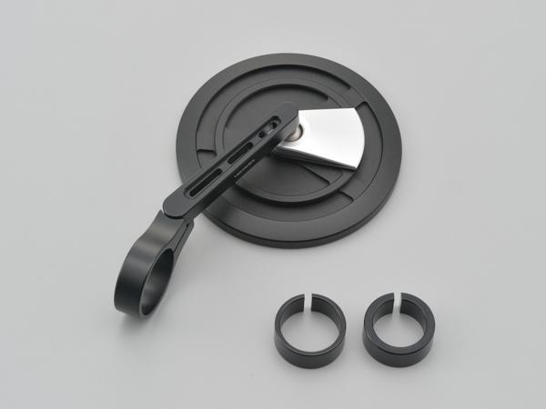 DAYTONA (デイトナ) バイク用 ミラー バーエンドミラー EP-1 ブラストブラック/シルバー 15603