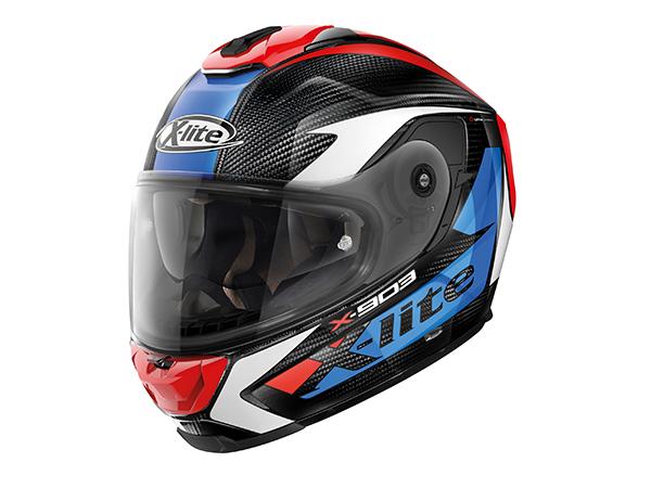 DAYTONA (デイトナ) バイク用 ヘルメット NOLAN ノーラン X-lite X-903 ULTRA CARBON ノビレス トリコロール/28 Mサイズ (57~58cm) 16143