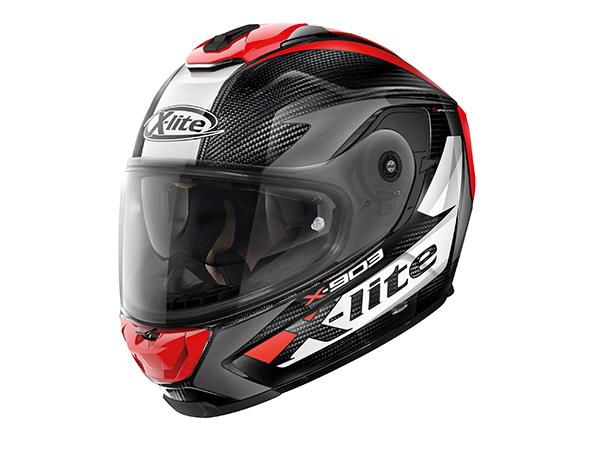 DAYTONA (デイトナ) バイク用 ヘルメット NOLAN ノーラン X-lite X-903 ULTRA CARBON ノビレス レッド/27 XLサイズ (61~62cm) 16211