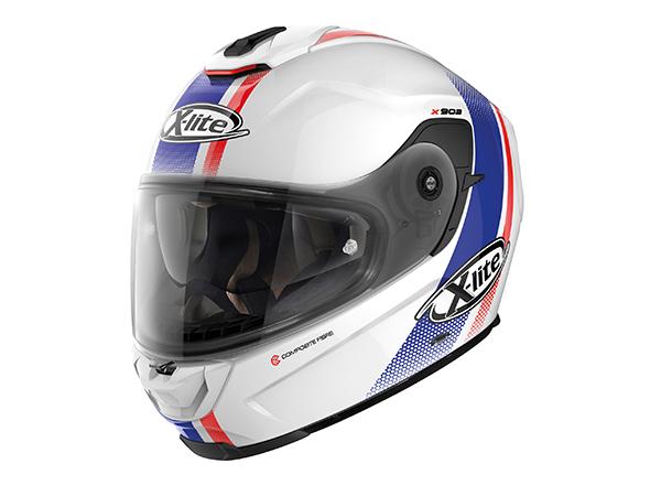 DAYTONA (デイトナ) バイク用 ヘルメット NOLAN ノーラン X-lite X-903 セナター メタルホワイト/19 Sサイズ (55~56cm) 16342