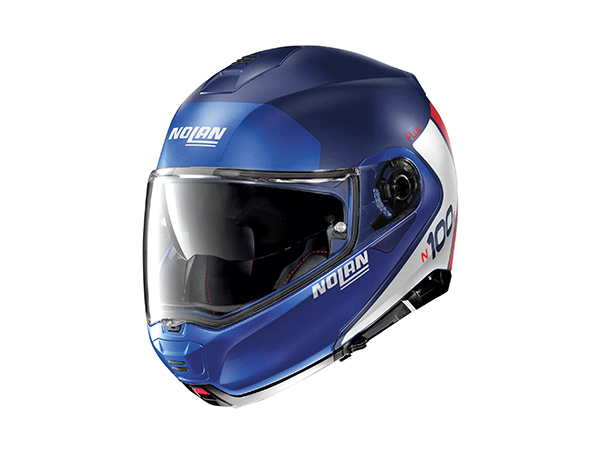 DAYTONA (デイトナ) バイク用 ヘルメット NOLAN ノーラン N1005 PLUS DISTINCTIVE フラットインペリアルブルー/29 Lサイズ (59~60cm) 16587