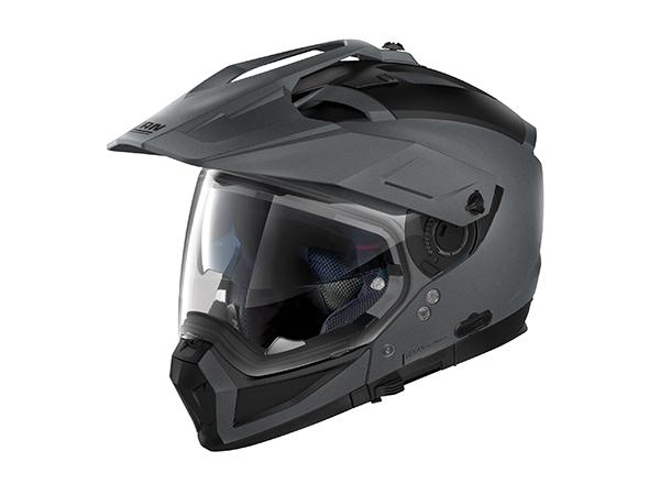 DAYTONA (デイトナ) バイク用 ヘルメット NOLAN ノーラン N702 X ソリッド フラットバルカングレー/2 Lサイズ (59~60cm) 16667