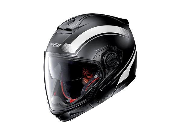 DAYTONA (デイトナ) バイク用 ヘルメット NOLAN ノーラン N405 GT リソリュート フラットブラック/ホワイト/20 Mサイズ (57~58cm) 16678