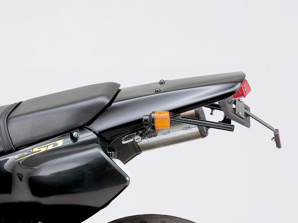 DAYTONA (デイトナ) バイク用 テールカウル アップリアフェンダー&テールランプキット KLX250/250SB系用 FRP/ブラックゲルコート 41169