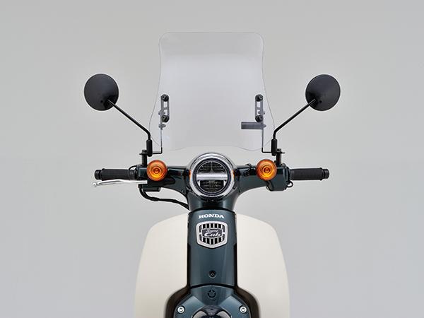 DAYTONA (デイトナ) バイク用 カウルスクリーン ウインドシールドRS 車種別キット スーパーカブ50/110 96525
