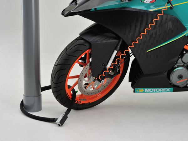 DAYTONA Seasonal Wrap入荷 NEW ARRIVAL デイトナ バイク用 盗難防止ロック 97676 シルバー ストロンガーロックセットディスク+リンクロック1200