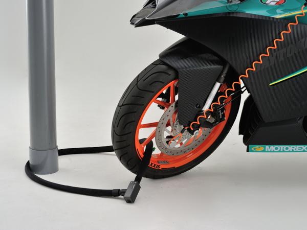 DAYTONA 国内在庫 デイトナ バイク用 期間限定の激安セール 盗難防止ロック ブラック ストロンガーロックセットディスク+ワイヤーロック1800 97683