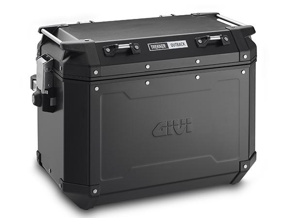 DAYTONA (デイトナ) バイク用 GIVI-BOX GIVI ジビ (OBKN48BL) (ストップランプ無し) ブラックライン右 (48L) 98497