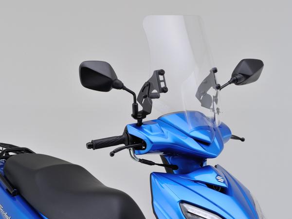 DAYTONA (デイトナ) バイク用 カウルスクリーン ウインドシールドHC 車種別キット SWISH (DV12B) 99191