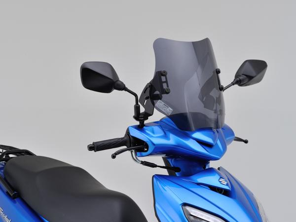 DAYTONA (デイトナ) バイク用 カウルスクリーン ウインドシールドSS 車種別キット SWISH (DV12B) 99192