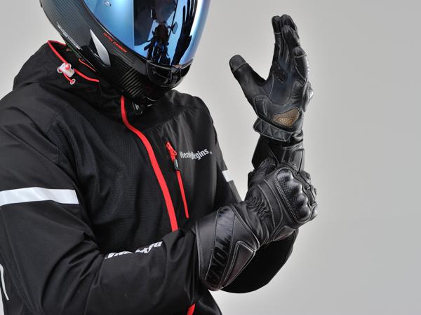 DAYTONA デイトナ バイク用 当店は最高な サービスを提供します ライディンググローブ HBG-040 XLサイズ ブラック 99229 スポーツロンググローブ マーケット