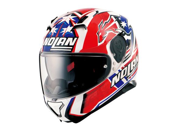 DAYTONA (デイトナ) バイク用 ヘルメット NOLAN ノーラン N87 ジェミニレプリカ ストーナーホワイト/79 Lサイズ (59~60cm) 99298