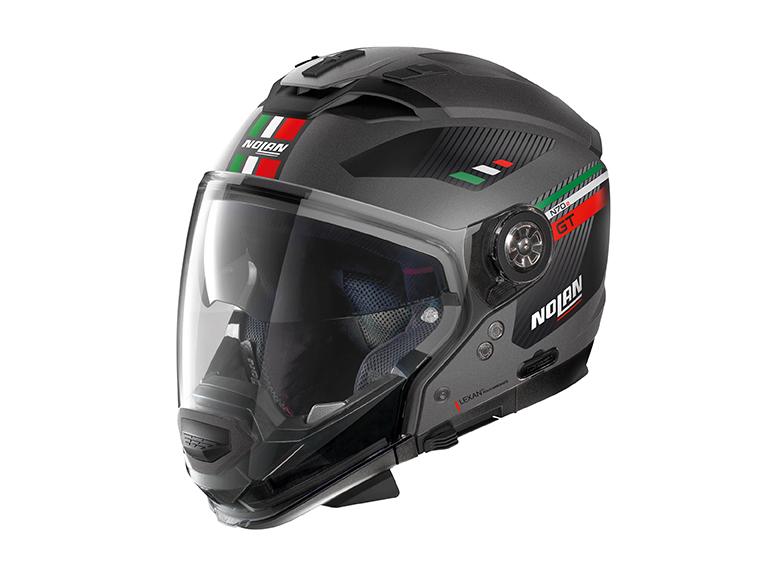 DAYTONA (デイトナ) バイク用 ヘルメット NOLAN ノーラン N702 GT ベラビスタ フラットラバグレイ Lサイズ (59~60cm) 99355