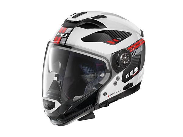 DAYTONA (デイトナ) バイク用 ヘルメット NOLAN ノーラン N702 GT ベラビスタ メタルホワイト Mサイズ (57~58cm) 99357