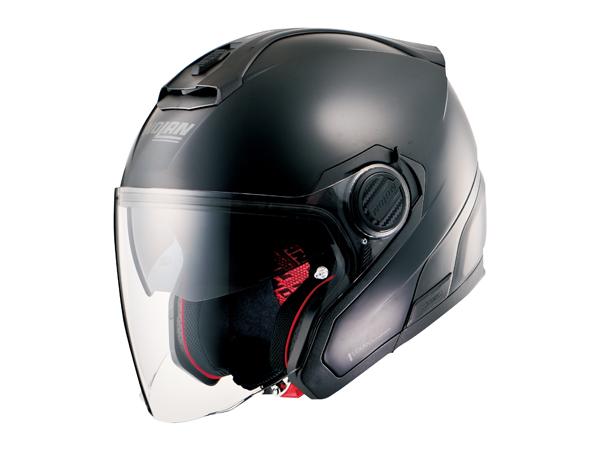 DAYTONA (デイトナ) バイク用 ヘルメット NOLAN ノーラン N405 ソリッド フラットブラック Sサイズ (55~56cm) 99369
