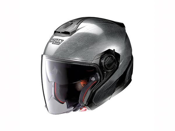 DAYTONA (デイトナ) バイク用 ヘルメット NOLAN ノーラン N405 ソリッド スクラッチドクローム Lサイズ (59~60cm) 99383