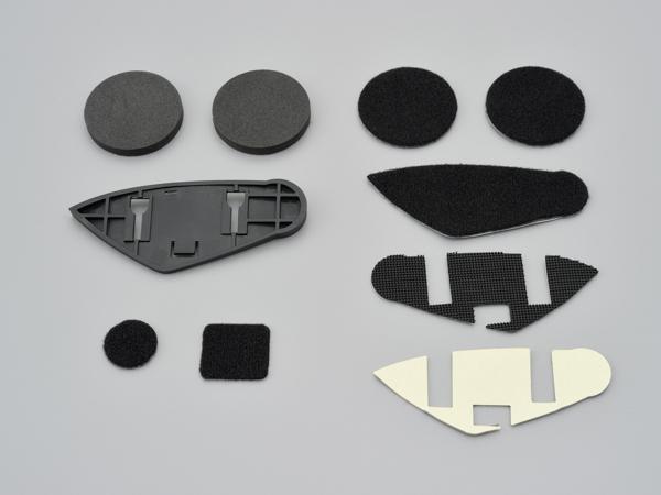 DAYTONA (デイトナ) バイク用 インカム オプション ヘルメットマウントセット (DT-E1専用補修部品) 15130