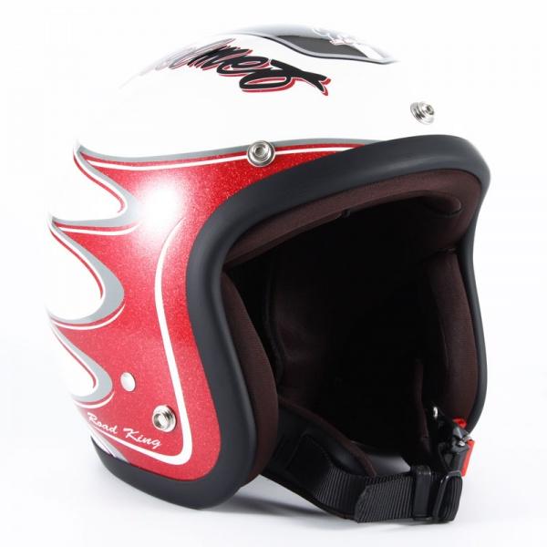 ジャムテックジャパン (72JAM) バイク用 ジェット ヘルメット JJシリーズ RODKIN ロドキン (ホワイト) フリーサイズ (57~60cm未満) JJ-08