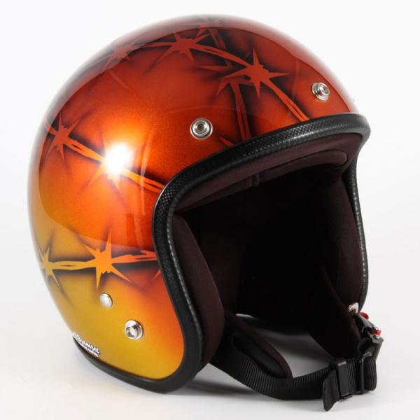 ジャムテックジャパン (72JAM) バイク用 ジェット ヘルメット JCPシリーズ ZEKE ジーク (オレンジ) フリーサイズ (57~60cm未満) JCP-05