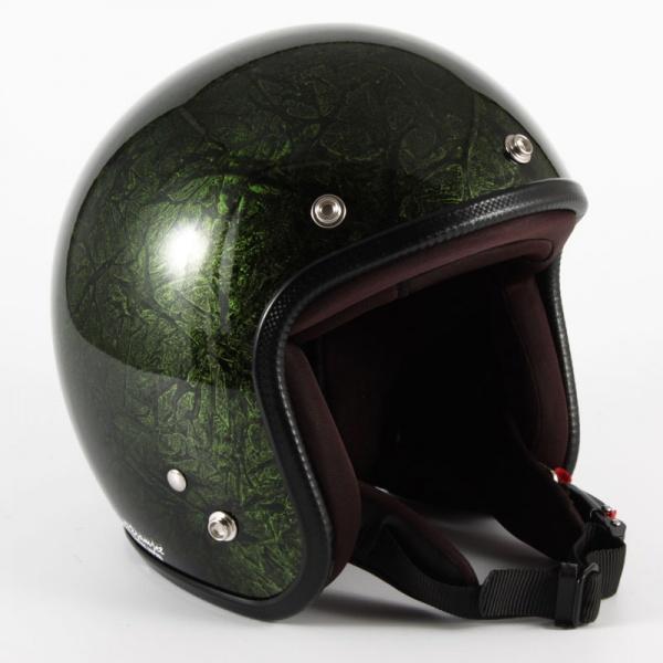 ジャムテックジャパン (72JAM) バイク用 ジェット ヘルメット JCPシリーズ RASH ラッシュ (グリーン) フリーサイズ (57~60cm未満) JCP-21