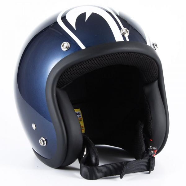 ジャムテックジャパン (72JAM) バイク用 ジェット ヘルメット SP TADAOモデル SP TADAO 忠男 (ネイビー) XLサイズ (60~62cm未満) SP-01L