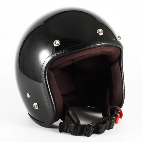 ジャムテックジャパン (72JAM) バイク用 ジェット ヘルメット JPシリーズ JP MONO HELMET (ブラック) XLサイズ (60~62cm未満) JPW-2L