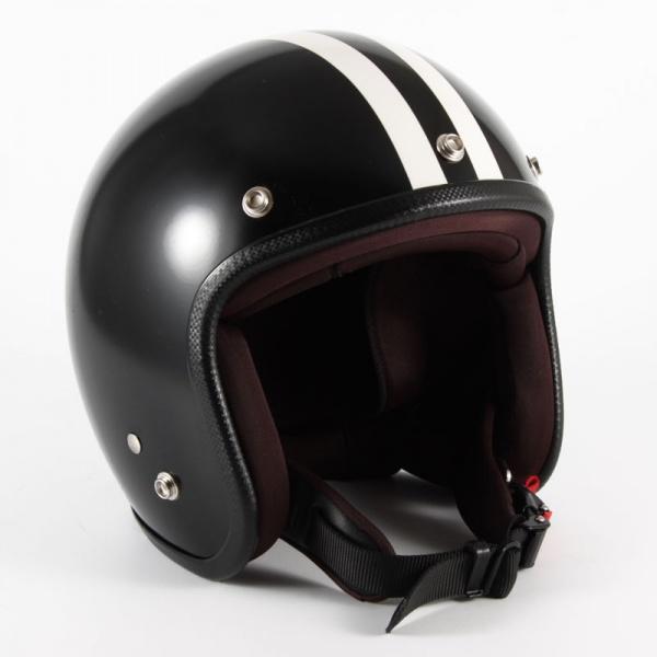 ジャムテックジャパン (72JAM) バイク用 ジェット ヘルメット JPシリーズ JP MONO HELMET BLACK HAWK ブラック ホーク (マットブラック) JPBH-1