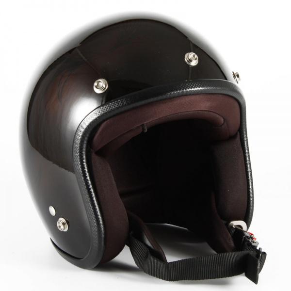 ジャムテックジャパン (72JAM) バイク用 ジェット ヘルメット JCPシリーズ Leaf リーフ レディース (ブラウン/ブラック) レディースサイズ(55~57cm未満) JCP-56