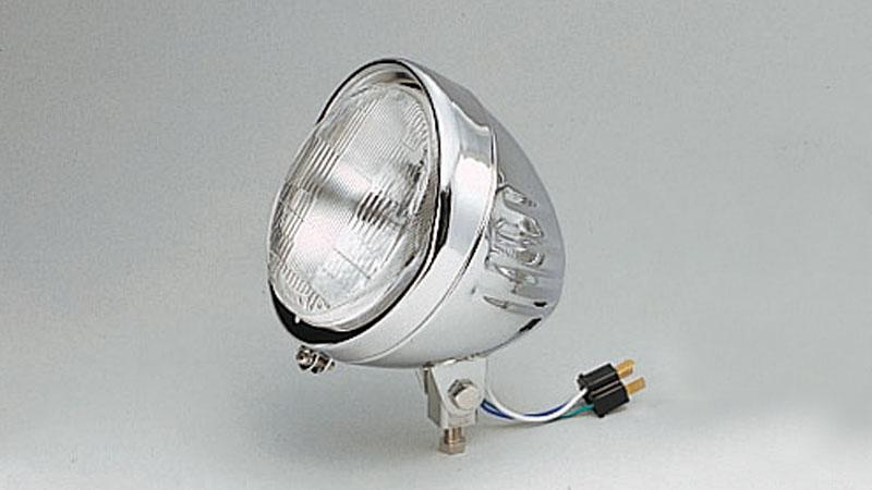 KIJIMA(キジマ) バイク用 ヘッドライト アーマー 5.5インチ 12V/60/55W 205-086