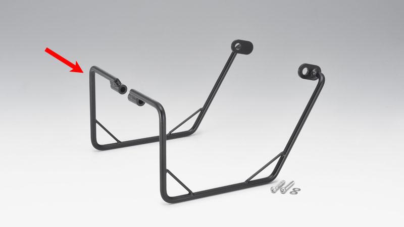 KIJIMA(キジマ) バイク用 バッグサポート BK カブ50/110/クロス 18y- レフト 210-4912