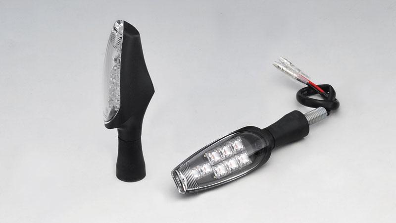 KIJIMA(キジマ) バイク用 ウインカーランプ TRL LED クリア 12V1.2W 2個 219-5155